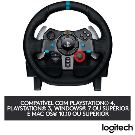 Controle para Game Volante Logitech G29  - Audio Video & cia