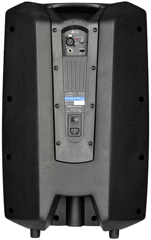 DB Technologies Cromo 12 Club Caixa Acustica Ativa de 12 polegadas 400W  - Audio Video & cia