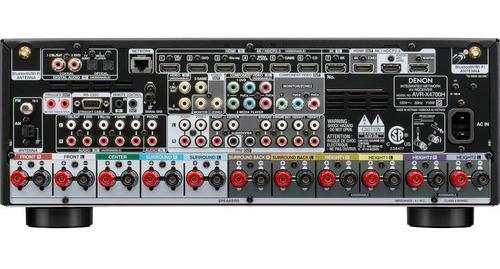 Denon Avr-x4700h Receiver 9.2 Canais 8k 125Wrms  - Audio Video & cia