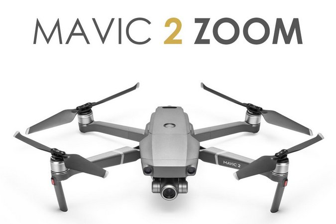 Drone Dji Mavic 2 Zoom  - Audio Video & cia