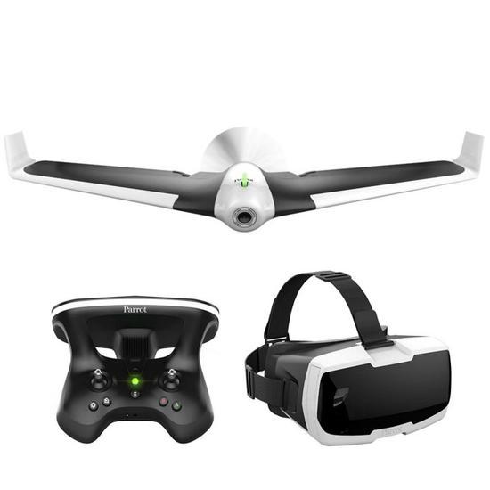 Drone Parrot Disco FPV Autopilot + Oculo RV + Skycontroller 2  - Audio Video & cia