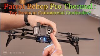 Drone Parrot Profissional Bebop Pro Thermal  - Audio Video & cia