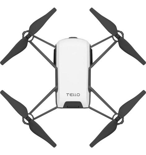 Drone Ryze Dji Tello Com Câmera Hd  Branco  - Audio Video & cia