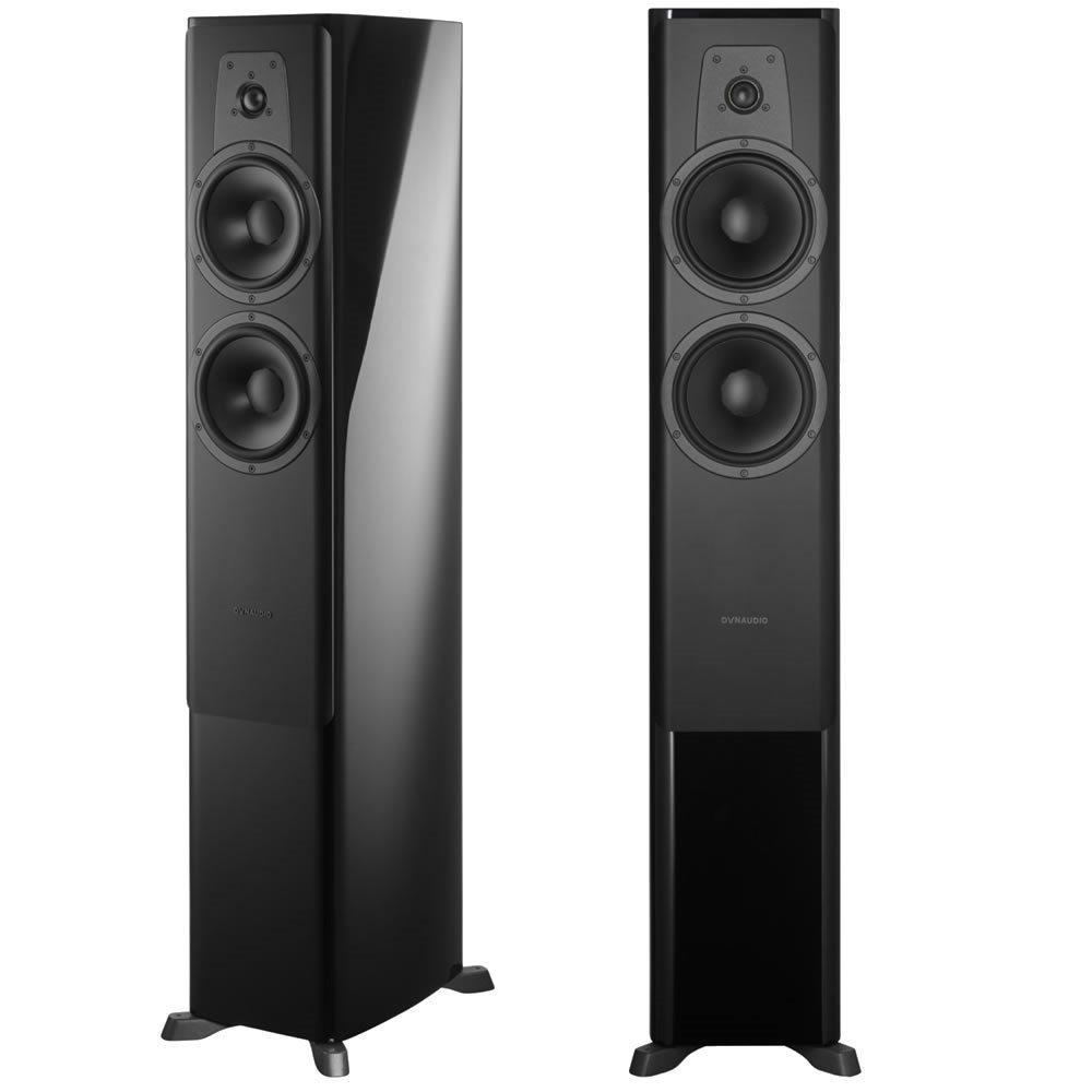 Dynaudio Contour 30 Black Piano Par de Caixas Acusticas Torre 300W  - Audio Video & cia