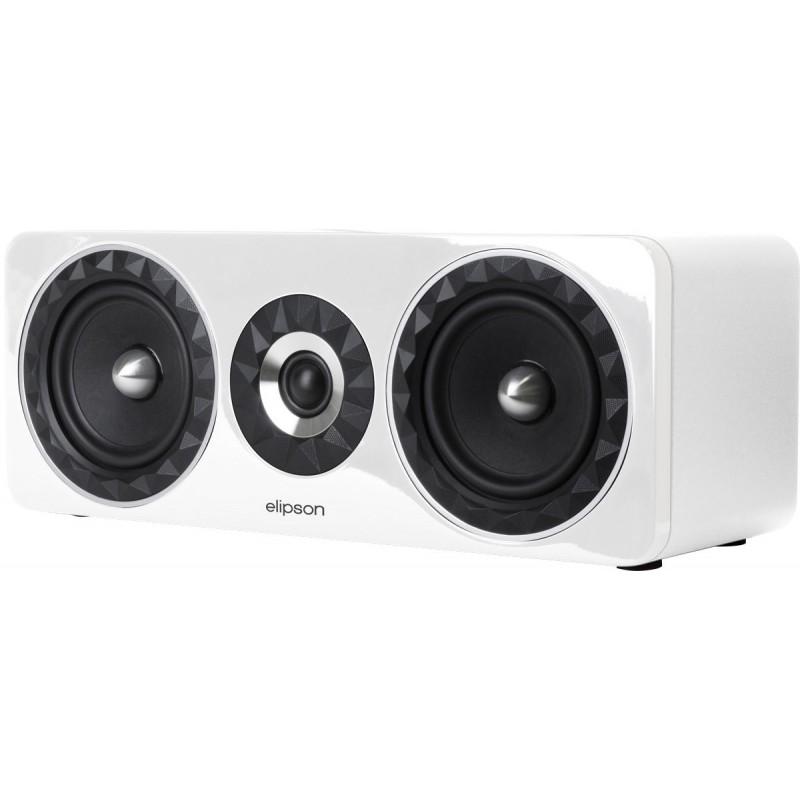 Elipson Prestige Facet 11C - Caixa Acustica Central Branca  - Audio Video & cia
