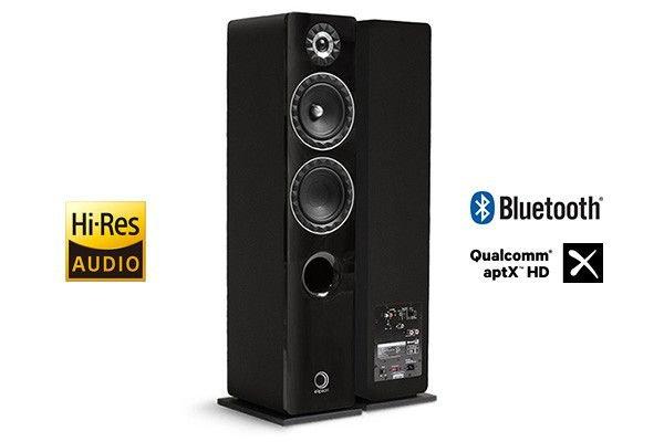 Elipson Prestige Facet 14F BT Phone Preta Caixa Acustica Torre Ativa 2 vias 150W rms ( par )  - Audio Video & cia