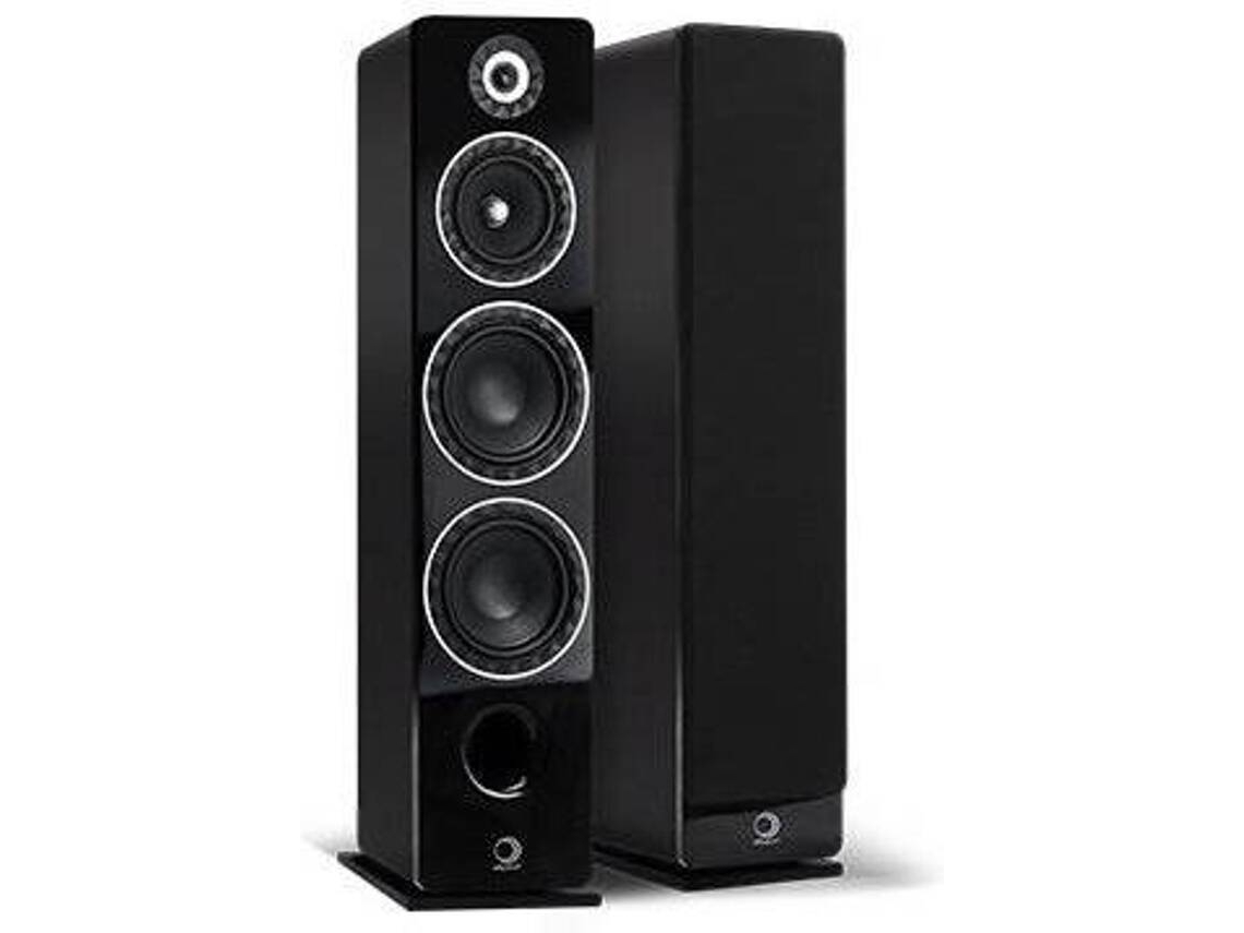 Elipson Prestige Facet 24F Preta Caixa Acustica Torre 3 vias 250W rms ( unid )  - Audio Video & cia