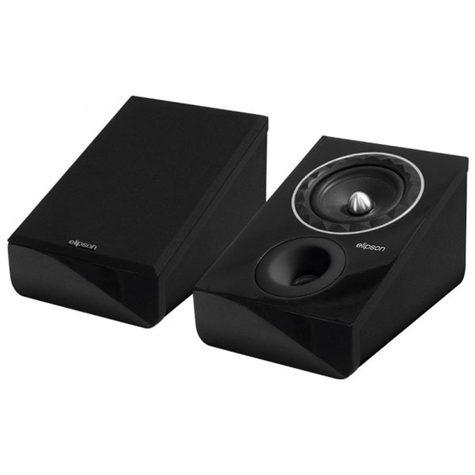 Elispon Prestige Facet 6 Atmos Preta Par de Caixas Surround Dolby Atmos  - Audio Video & cia