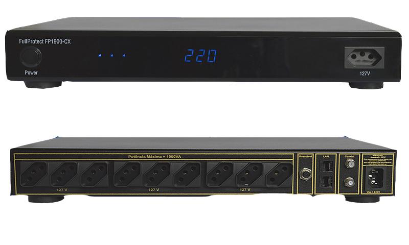 Engeblu fullprotect FP1900 CX Condicionador de Energia para Home Theater 127V  - Audio Video & cia