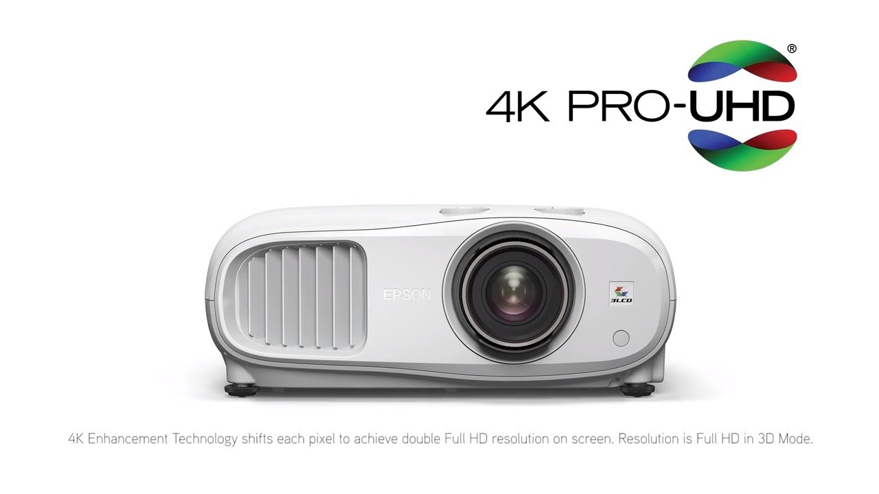 Epson Home Cinema 3800 Projetor 4K lumens  - Audio Video & cia