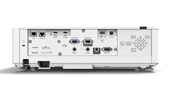 Epson PowerLite L610W Projetor Laser WXGA 6000 lumens  - Audio Video & cia