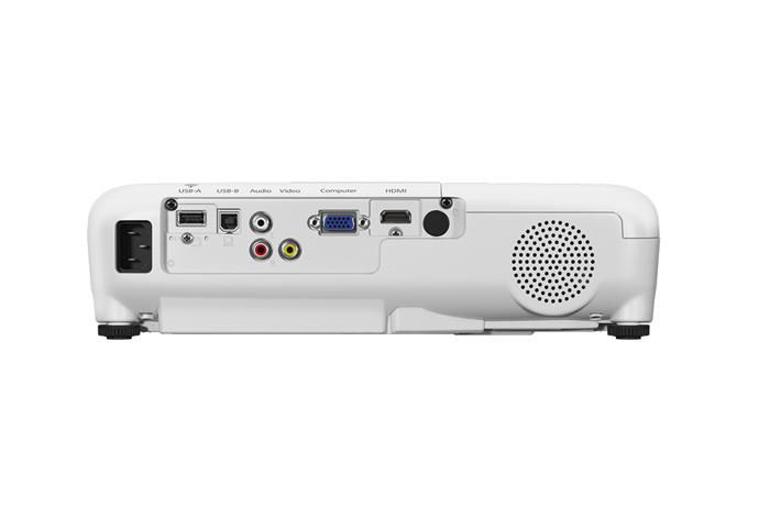 Epson PowerLite X05+ Projetor SVGA 3300 lumens  - Audio Video & cia