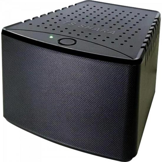 Estabilizador 1000VA POWEREST ABS Bivolt Preto TS SHARA  - Audio Video & cia