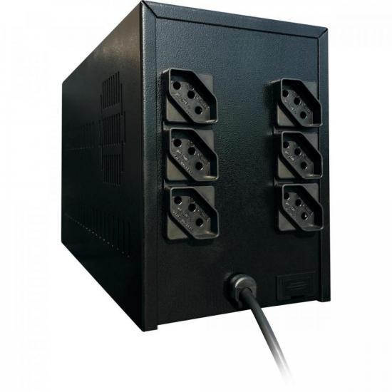 Estabilizador 1500VA Bivolt PowerEst2 TS SHARA  - Audio Video & cia