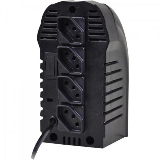 Estabilizador 300VA POWEREST Bivolt Preto TS SHARA  - Audio Video & cia