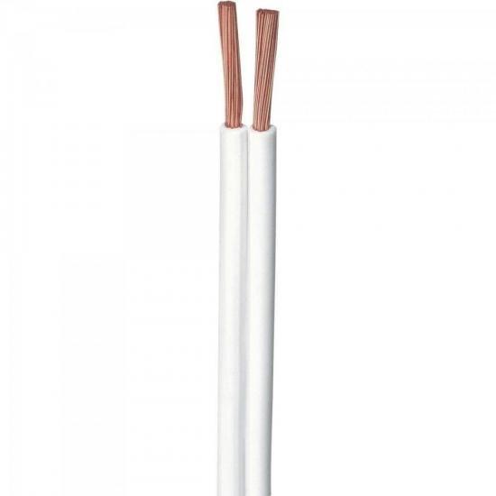 Fio Paralelo 2x16 1,00mm Branco CONTROLLER - RL / 100  - Audio Video & cia