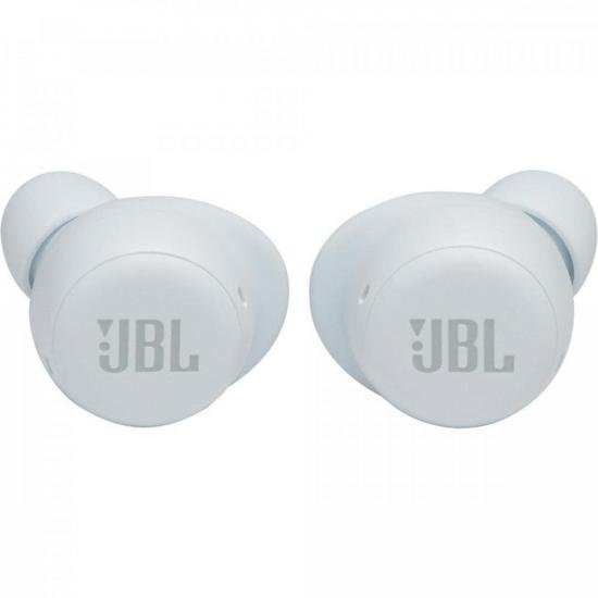 Fone de Ouvido Bluetooth c/ Live Free NC+ TWS Branco JBL  - Audio Video & cia