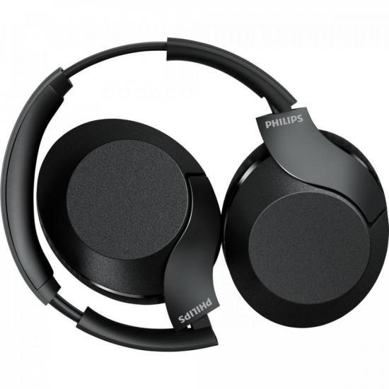 Fone de Ouvido Bluetooth TAPH802BK/00 Preto PHILIPS  - Audio Video & cia