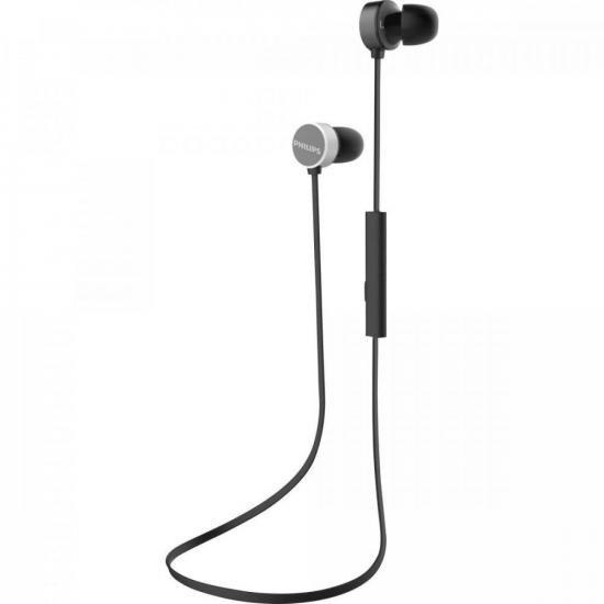 Fone de Ouvido Bluetooth TAUN102BK/00 Preto PHILIPS  - Audio Video & cia