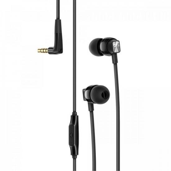 Fone de Ouvido CX300S Preto SENNHEISER  - Audio Video & cia