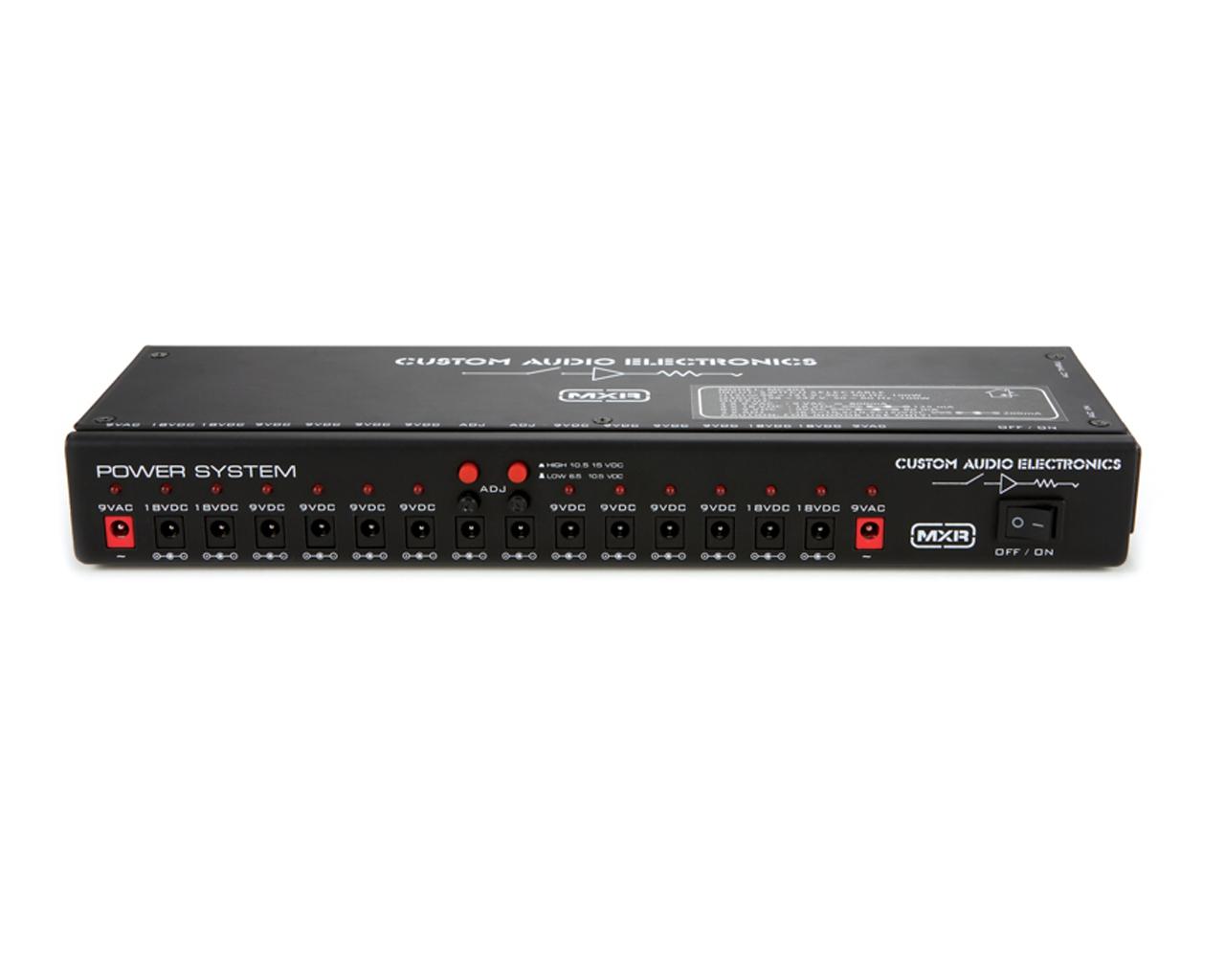 Fonte Mxr Cae Power System P/16 Pedais Cabo Ac Mc403 Dunlop  - Audio Video & cia