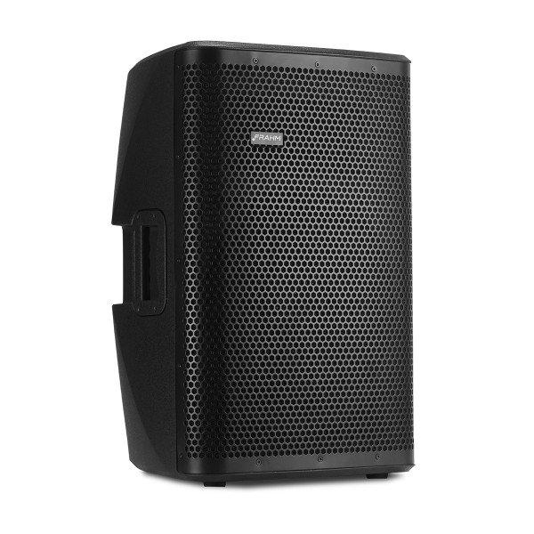 FRAHM DSP 12 PRO - CAIXA ATIVA PLASTICA - NAO AUTOMOTIVA  - Audio Video & cia