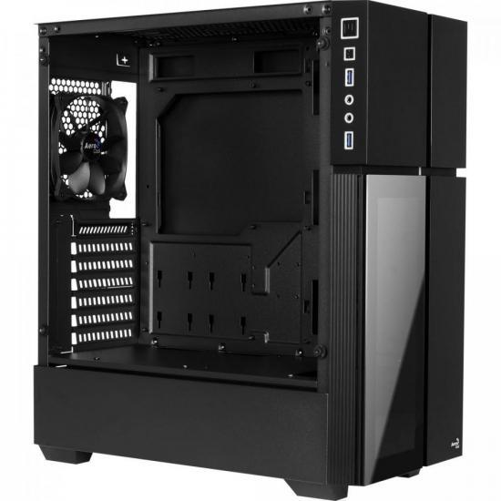 Gabinete Gamer Mid Tower PLAYA RGB Vidro Temperado AEROCOOL  - Audio Video & cia