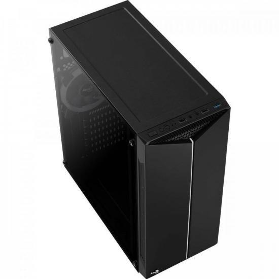 Gabinete Gamer Mid Tower Split RGB AEROCOOL  - Audio Video & cia