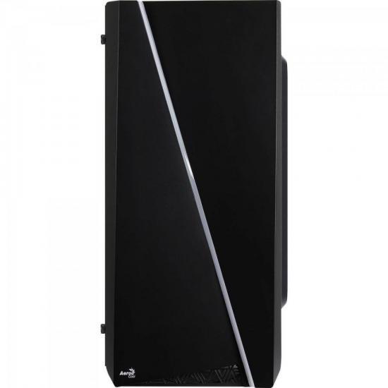 Gabinete Gamer Mini Tower RGB Mini Cylon Preto AEROCOOL  - Audio Video & cia