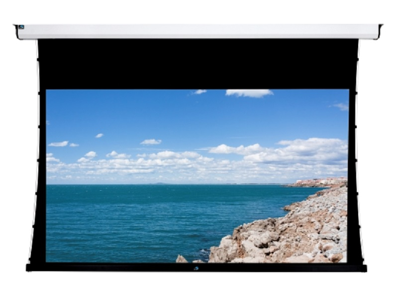 Gaia GBH 150 - Tela de Projeção 150 polegadas Motorizada Tensionada 16:9  - Audio Video & cia