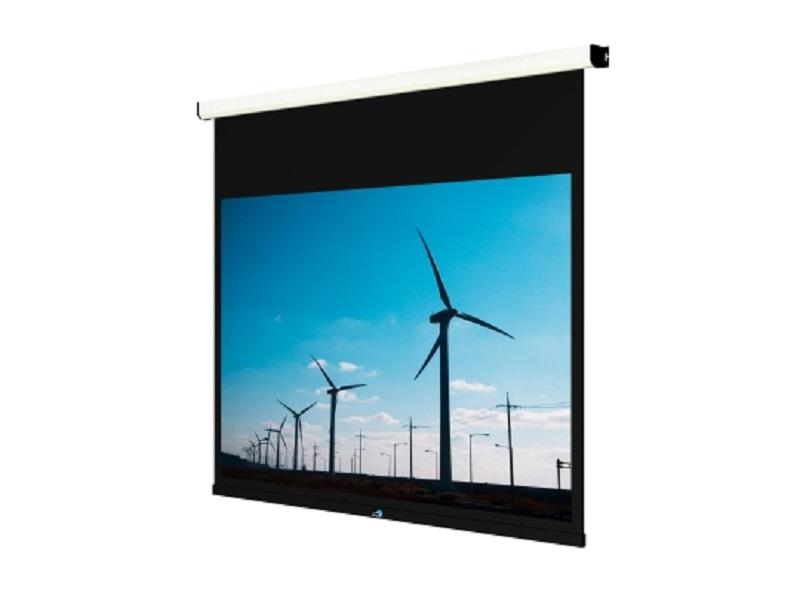 Gaia GNV 130 - Tela de projeção 130 polegadas Motorizada 4:3  - Audio Video & cia