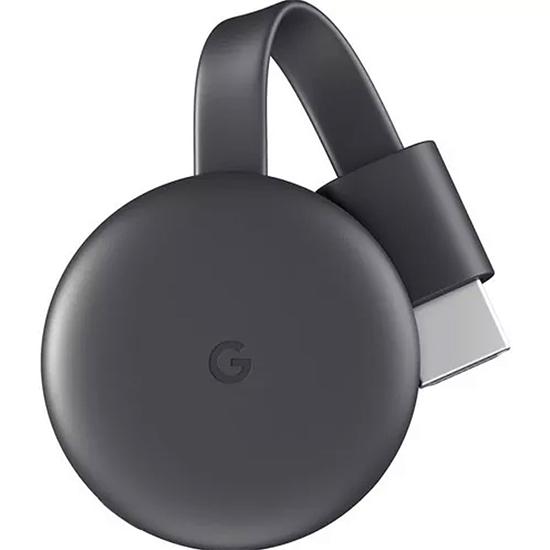 Google ChromeCast 3 - Adaptador Multimidia  - Audio Video & cia