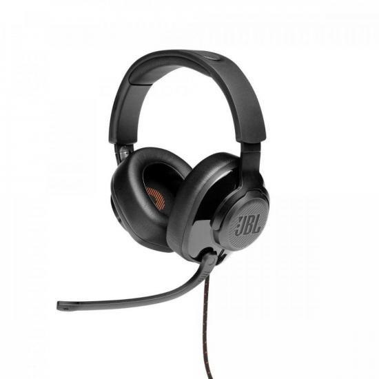 Headset Gamer Quantum 200 Preto JBL  - Audio Video & cia