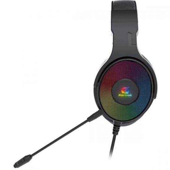 Headset Gamer RGB CRUISER 7.1 Preto FORTREK G  - Audio Video & cia