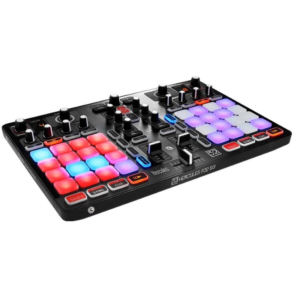 Hercules DJ P32 Controladora DJ  - Audio Video & cia