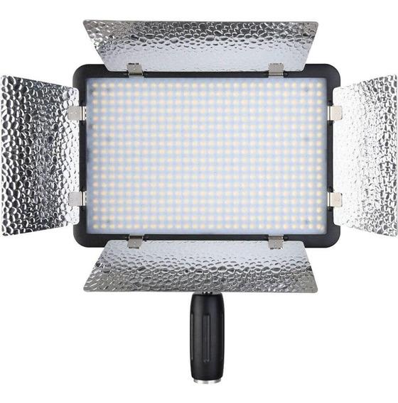 Iluminador Godox LED-500LCR - Bi-color C/ Controle Remoto  - Audio Video & cia