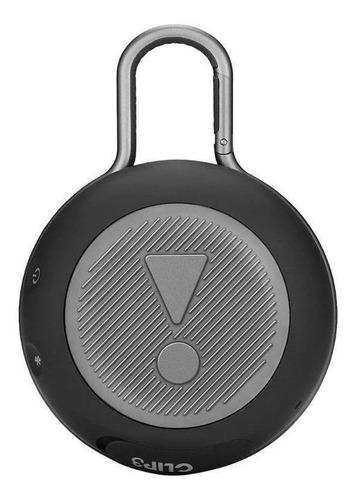 JBL Clip 3 Caixa de Som Portátil Com Bluetooth Midnight Black  - Audio Video & cia