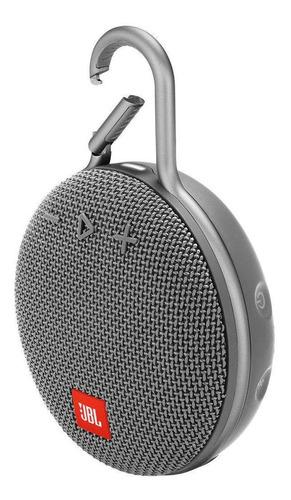JBL Clip 3 Caixa de Som Portátil Com Bluetooth Stone Grey  - Audio Video & cia