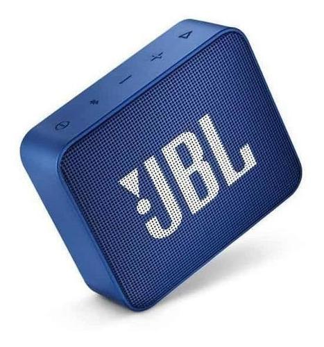 JBL Go 2 Caixa de Som Portátil Com Bluetooth Deep Sea Blue  - Audio Video & cia