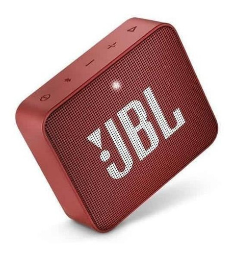 JBL Go 2 Caixa de Som Portátil Com Bluetooth Ruby Red  - Audio Video & cia