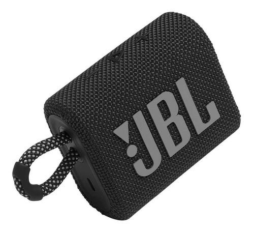 JBL Go 3 Caixa de Som Portátil Com Bluetooth Black  - Audio Video & cia