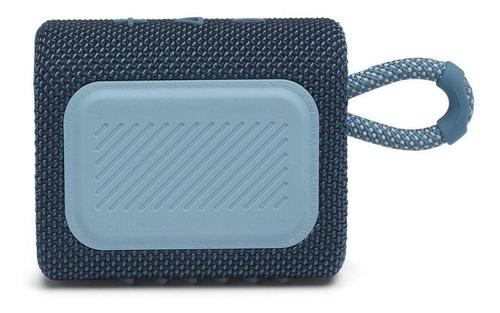 JBL Go 3 Caixa de Som Portátil Com Bluetooth Blue  - Audio Video & cia