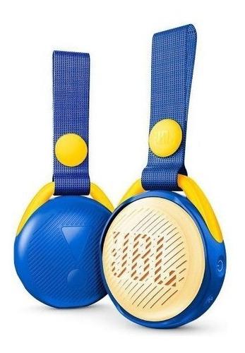 Jbl Jr Pop Caixa Portátil com Bluetooth Azul  - Audio Video & cia