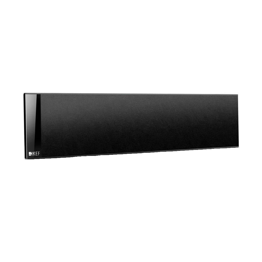 KEF T301C - Caixa Acustica Central Slim de 150W Preta  - Audio Video & cia