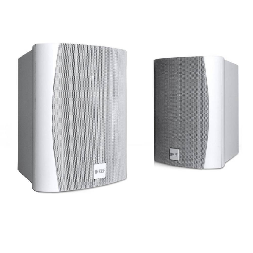 KEF Ventura 6 Branca Caixa Acustica Outdoor 125W (par) - 5 Anos de Garantia  - Audio Video & cia