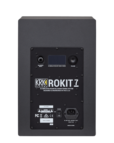 KRK Rokit RP 7 G4 Par de Monitor de Estudio Amplificado Bi-Volt  Preto  - Audio Video & cia