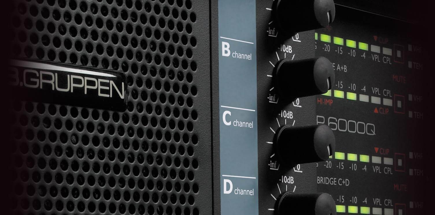Lab Gruppen FP 6000Q Amplificador de Potencia 4 Canais 6000W  - Audio Video & cia