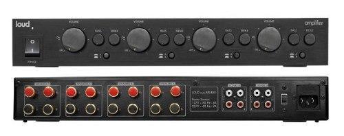Loud APL 850 D - Amplificador Multiroom 4 ambientes estereo com controle de volume por zona  - Audio Video & cia