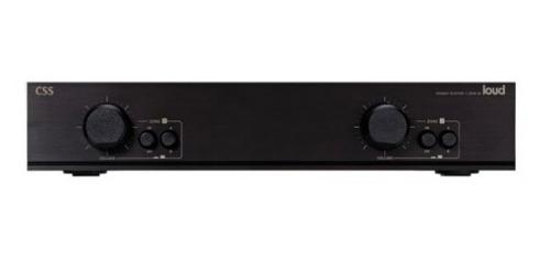 Loud CSS2 Setorizador de Som para 2 ambientes estereo com controle de volume  - Audio Video & cia