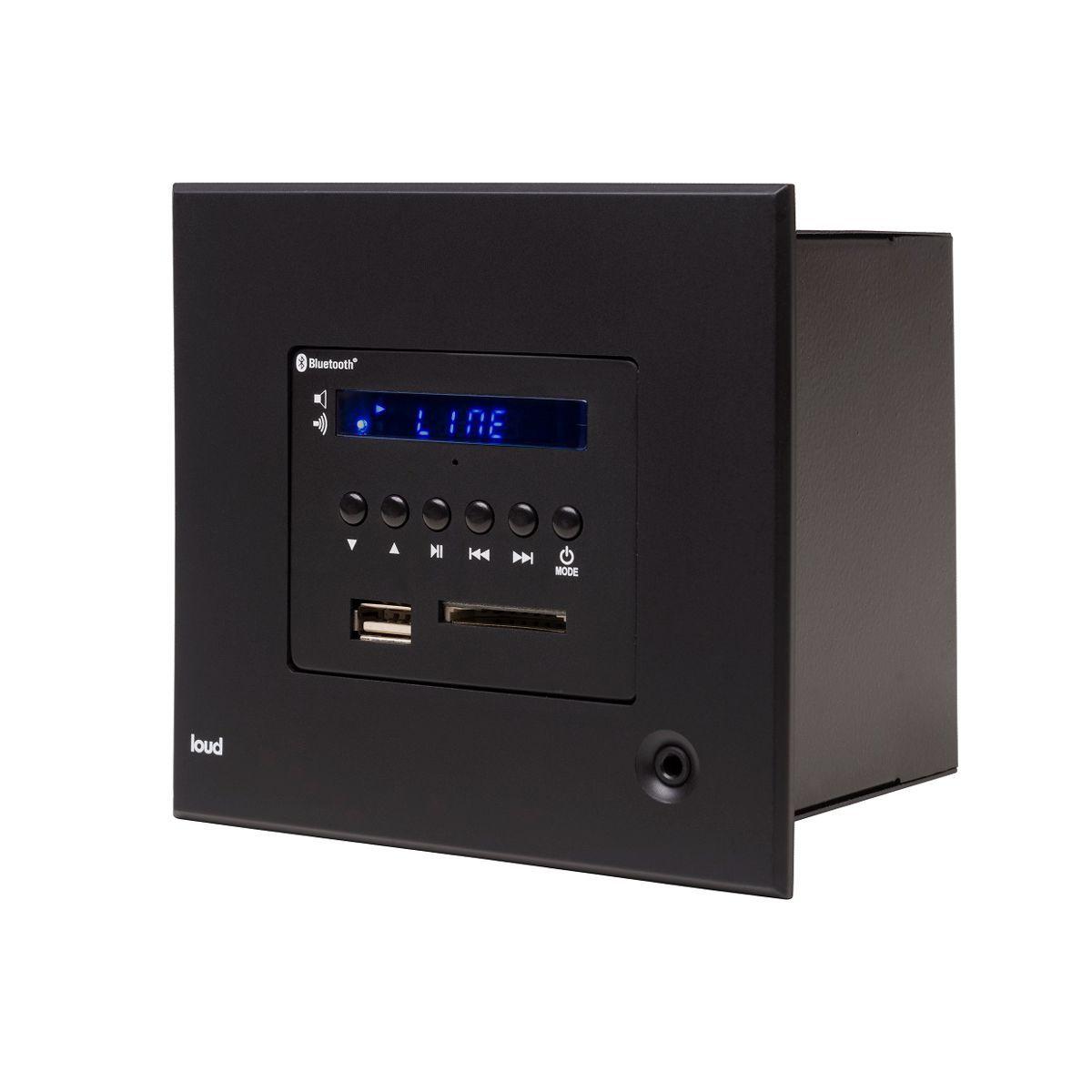 Loud LAC LX BT Black - Amplificador de parede  - Audio Video & cia
